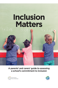 Inclusion matters guide front cover